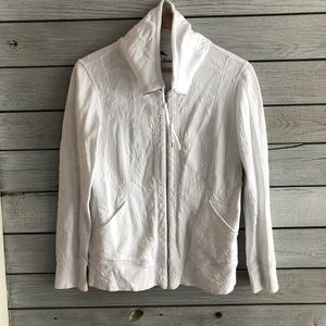 Super cute white tommy Bahama zip up
